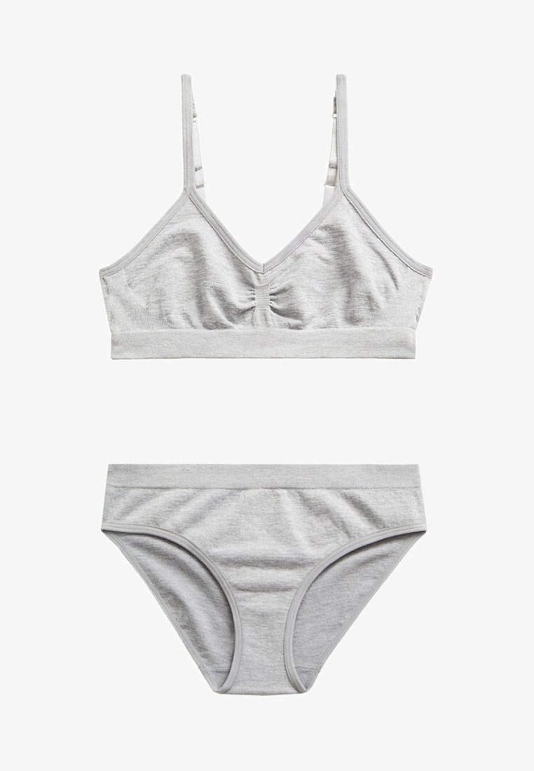 Mango - VALERIA - Bikini - grigio medio vigoré