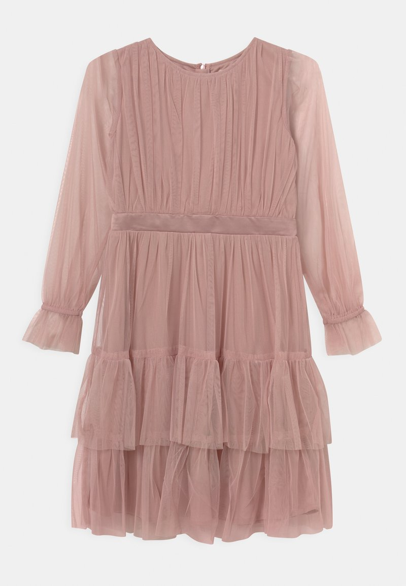 Anaya with love - BISHOP SLEEVE RUFFLE DETAIL  - Cocktailjurk - frosted pink