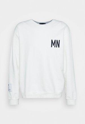COURTSIDE WASHED REGULAR - Sweatshirt - white
