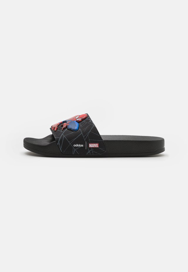 ADILETTE SHOWER UNISEX - Chanclas de baño - core black/grey six