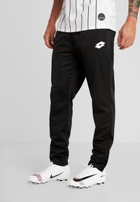 Lotto - DELTA PANT - Spodnie treningowe - all black - 0