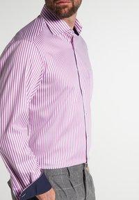 Eterna - MODERN FIT - Shirt - pink/weiss - 2