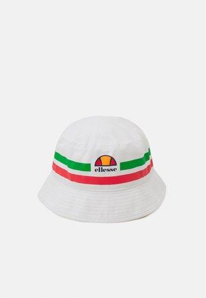 LANORI BUCKET HAT UNISEX - Hat - white/green