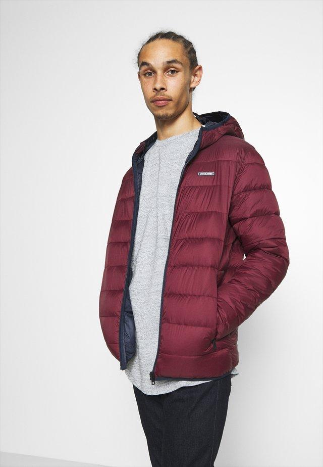 JJVINCENT PUFFER HOOD - Winter jacket - port royale