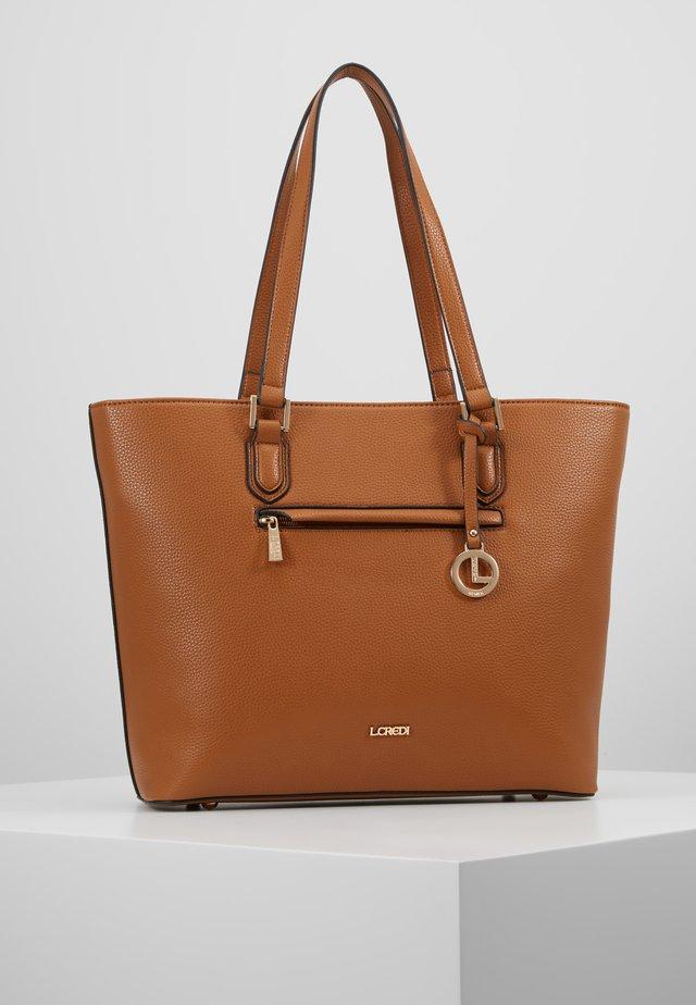 ELECTRA - Handbag - cognac