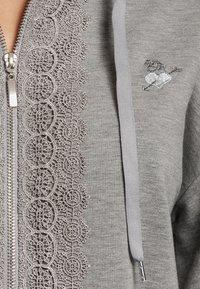 Vive Maria - Zip-up sweatshirt - grau meliert - 4