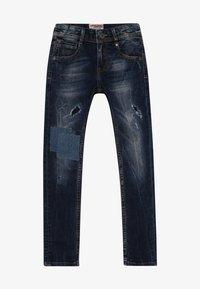 Vingino - AGNUS - Jeans Skinny Fit - dark used - 2