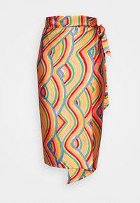 SUMMER RAINBOW  - Wrap skirt - multi