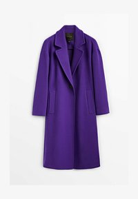 Massimo Dutti - Classic coat - dark purple - 5
