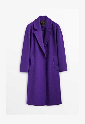 Classic coat - dark purple