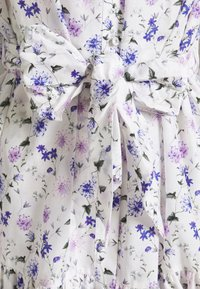 The Kooples - DRESS - Shirt dress - ecru/lavender - 2