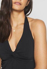 JETS Australia - TWIST SINGLET - Bikini top - black - 5