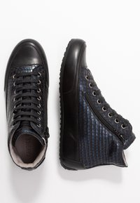 Candice Cooper - PLUS - Sneakers high - ninja blu/nero - 3