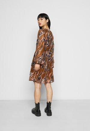YASASTEA DRESS - Day dress - tortoise shell/astea