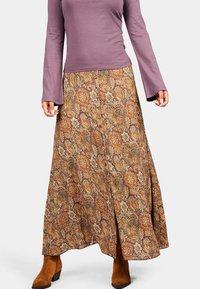 Isla Ibiza Bonita - SANT RAFEL - Maxi skirt - mysterious indian flowers - 0