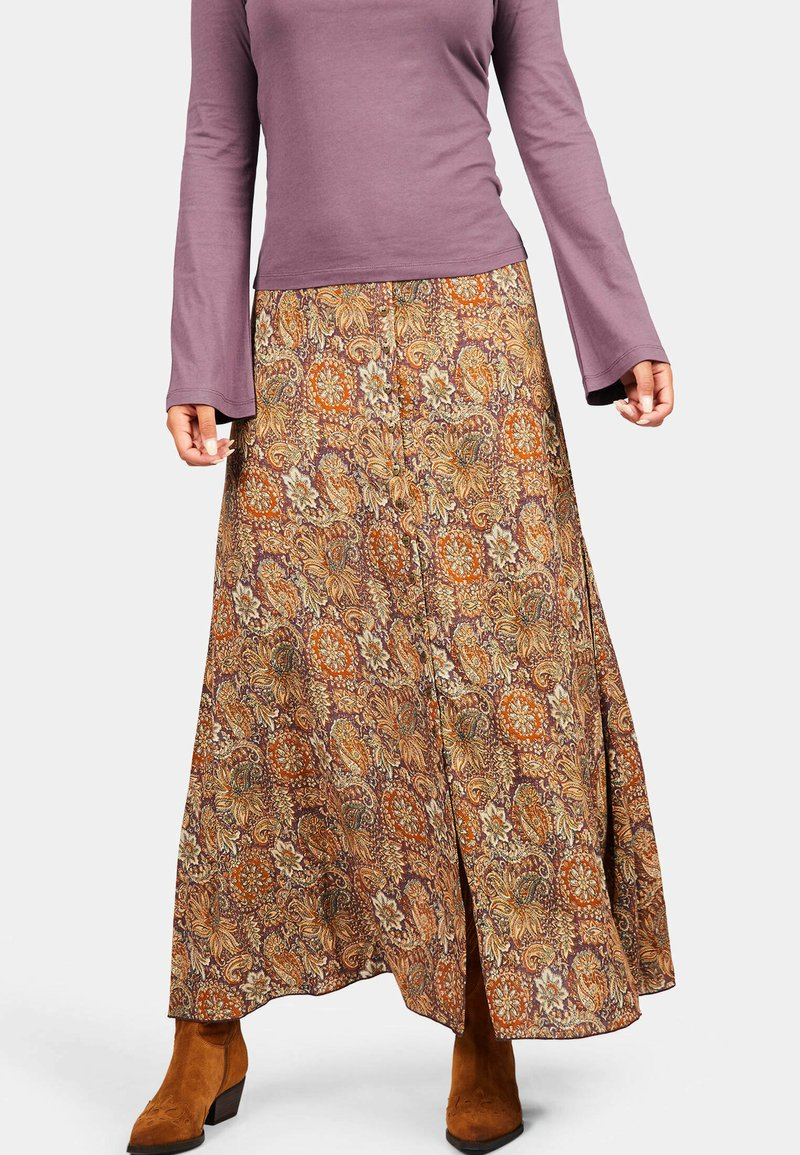 Isla Ibiza Bonita - SANT RAFEL - Maxi skirt - mysterious indian flowers