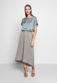 DRYKORN - RAHEL - A-line skirt - silver - 1