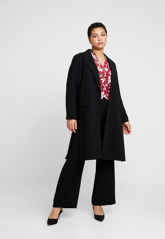 TAILORED COAT - Manteau court - black