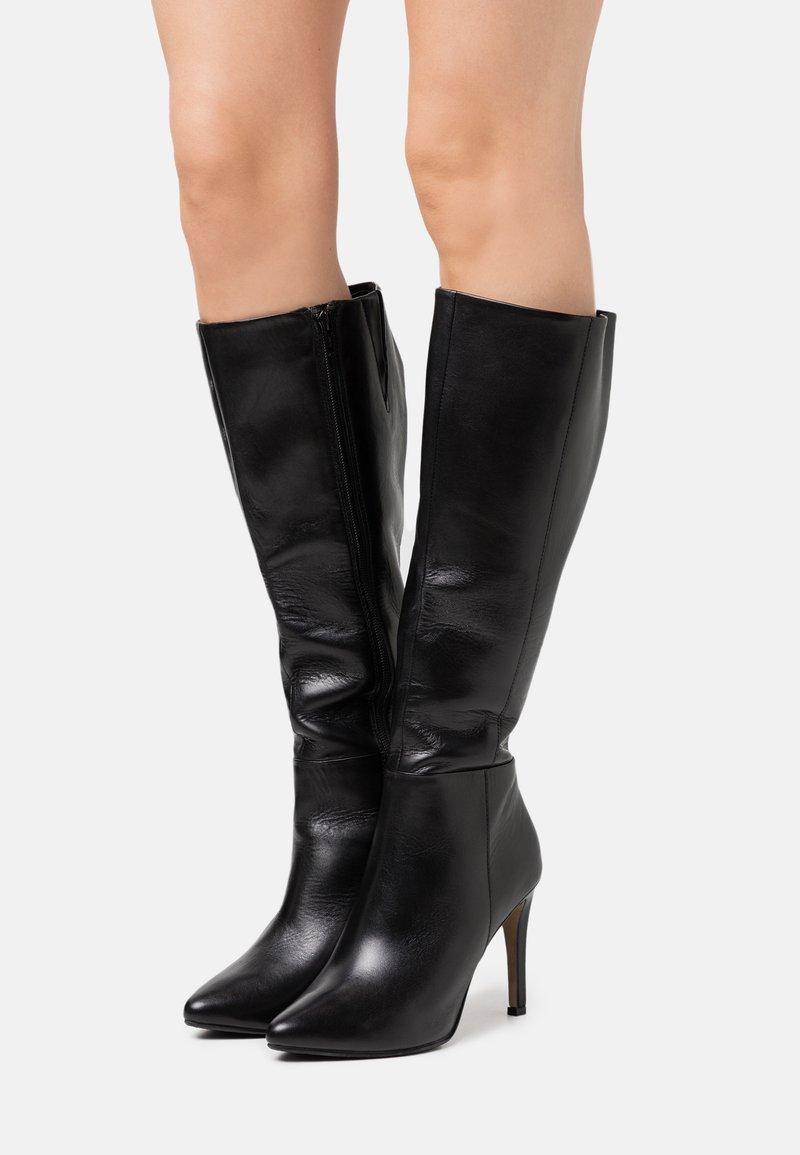 Steven New York - EFFINA - Boots med høye hæler - black