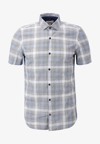 Shirt - black check