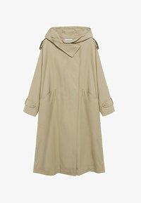 Mango - Classic coat - kaki - 5