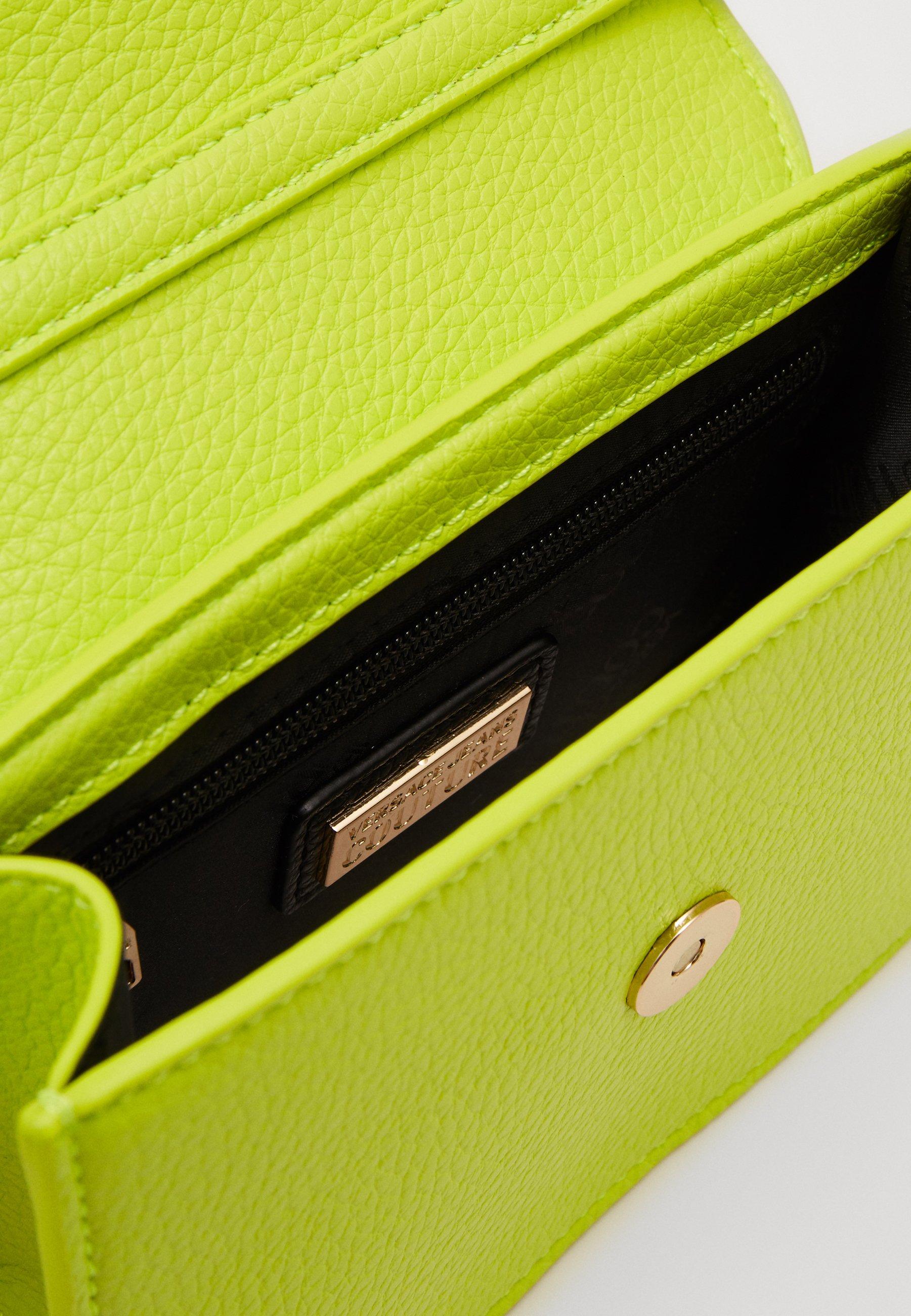 Cheapest Outlet Versace Jeans Couture DISCOBAGCOUTURE  - Across body bag - verde fluo | women's accessories 2020 iezuj