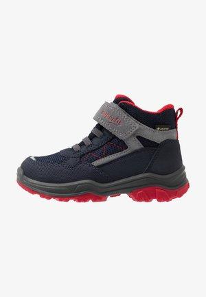JUPITER - Korte laarzen - blau/rot
