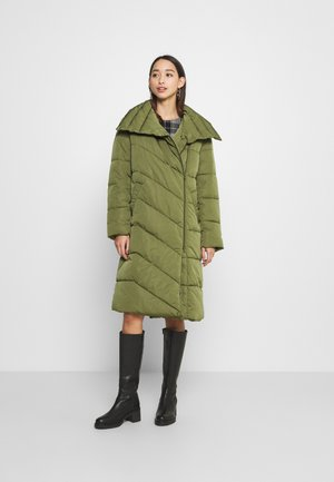 YASSELINA LONG PADDED JACKET - Classic coat - capulet olive