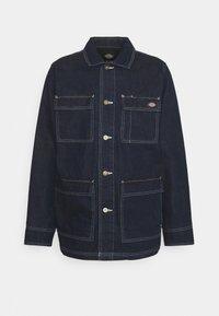 MORRISTOWN - Short coat - rinsed indigo/blue
