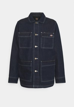 MORRISTOWN - Short coat - rinsed indigo/blue