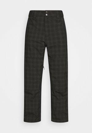TUCK KNEE  - Snow pants - black