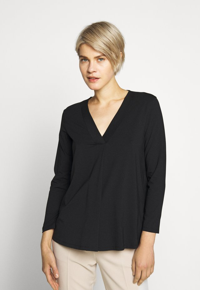 MULTIB - Long sleeved top - schwarz