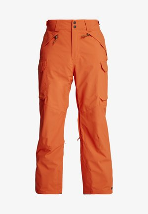 EXALT PANTS - Pantaloni da neve - bright orange