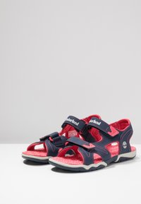 Timberland - ADVENTURE SEEKER 2 STRAP - Walking sandals - navy/pink - 2