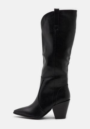 PERLA - Vysoká obuv - black