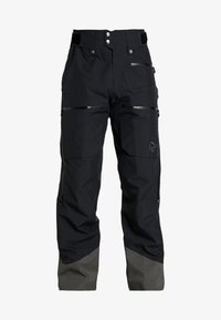 Norrøna - LOFOTEN GORE-TEX INSULATED PANTS - Spodnie narciarskie - caviar - 6