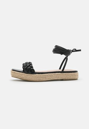 ANASTASIA - Sandály na platformě - black