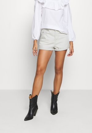 JEN - Denim shorts - washed pinfire
