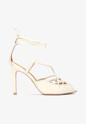 LICORICE - High heeled sandals - beige