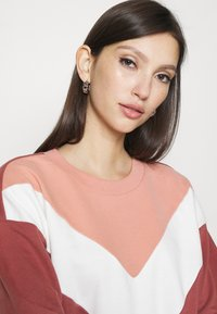 ONLY - ONLASHLEY DRESS  - Kjole - rose dawn/color blocking rose/cd/ap - 3