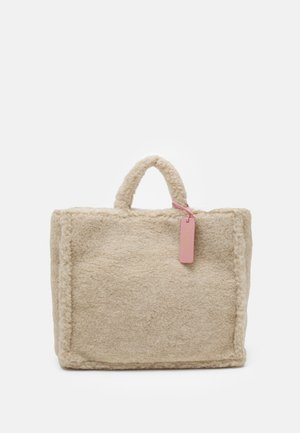 NEVER WITHOUT TOP HANDLE - Tote bag - powder pink