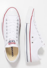 Converse - CHUCK TAYLOR ALL STAR OX - Trainers - optical white - 1