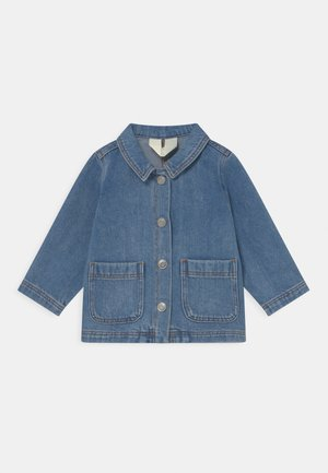 SIGGY UNISEX - Denim jacket - blue denim
