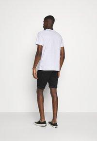 G-Star - 3301 SLIM SHORT - Denim shorts - elto nero black - 2