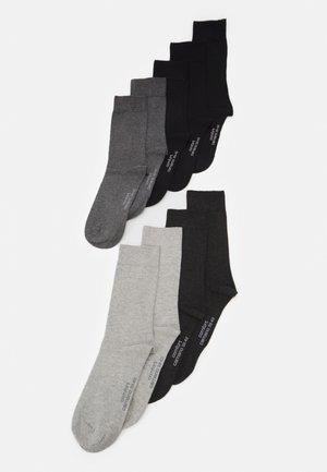 9 PACK UNISEX - Socks - black mix