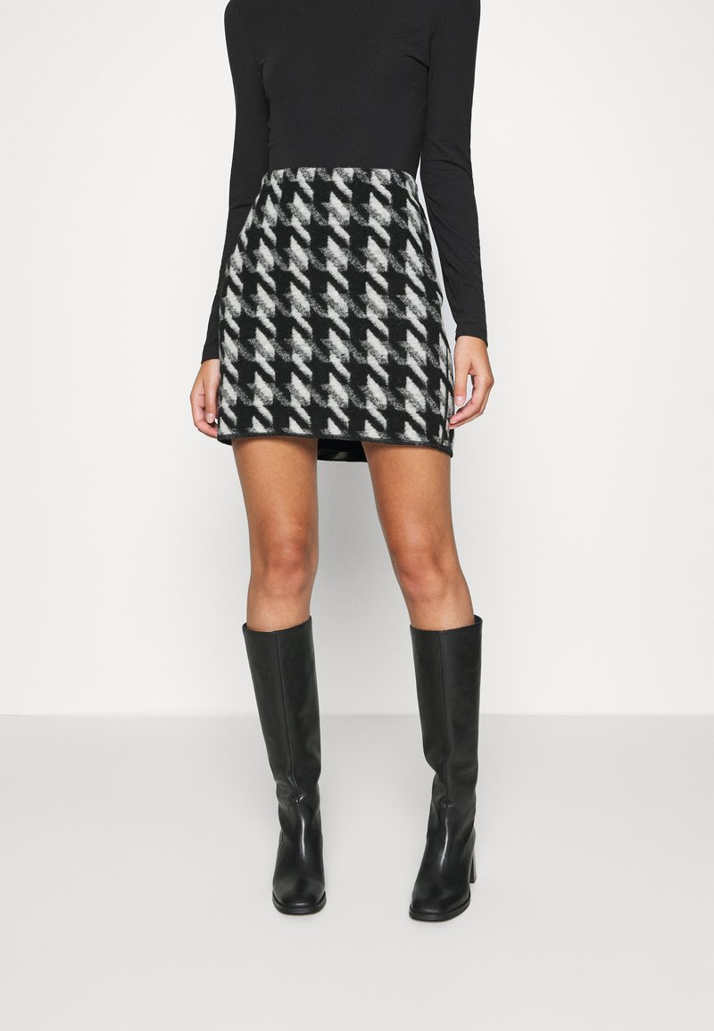 Opus - RAVENNA - Mini skirt - black