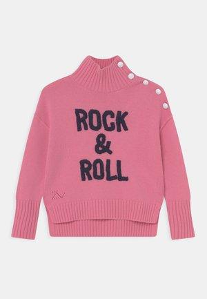 POLO NECK - Jersey de punto - pale pink