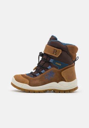Zimní obuv - cognac/brown