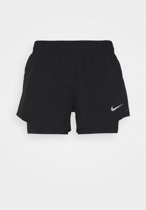 10K SHORT - Sports shorts - black/black/black/wolf grey