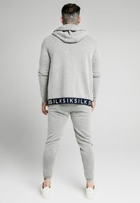 SIKSILK - ELASTIC JACQUARD ZIP THROUGH HOODIE - Zip-up hoodie - grey - 2
